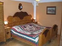 ložnice 1 - chalupa k pronajmutí Staré Město pod Sněžníkem