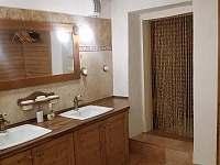 vchod do infra sauny - pronájem chalupy Staré Město pod Sněžníkem