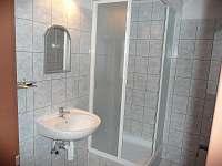 Koupelna apartmánu - chalupa ubytování Dlouhá Stráň