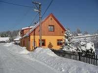 Zima - chalupa ubytování Dlouhá Stráň