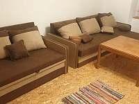 Obývací prostor spodního apartmánu - Holčovice - Spálené
