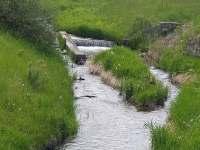 Řeka Opavice, splav - pronájem chalupy Holčovice - Spálené
