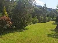 Zahrada - chalupa k pronájmu Holčovice - Spálené