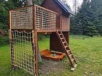 Domek pro děti - roubenka k pronájmu Suchá Rudná