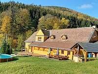 Vernířovice ubytování 19 lidí  pronajmutí
