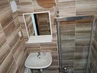 Koupelna - chalupa ubytování Lipová - Lázně