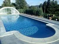 Černá Perla - bazén - rekreační dům ubytování Černá Voda