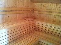 Sauna - pronájem chaty Andělská Hora