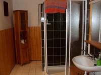koupelna - chata ubytování Vrbno pod Pradědem