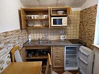 Kuchyně 2lůžkového pokoje - apartmán ubytování Velké Losiny