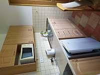 Kuchyňka v 3lůžkovém pokoji - Velké Losiny
