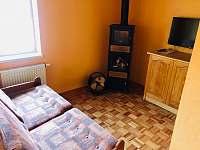 Apartmán - posezení u televize - Lipová lázně