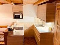 Kuchyně - pronájem chalupy Lipová lázně