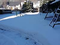 Zahrada zima