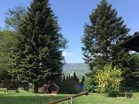 zahrada - chalupa k pronájmu Bělá pod Pradědem - Domašov