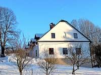 zima - chalupa ubytování Vikantice