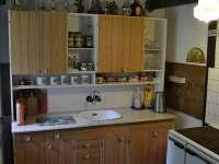 Kuchyňka - pronájem chalupy Heřmanovice