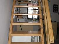 schody k pokojům