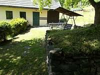 vchod do chaty - pronájem Stříbrnice