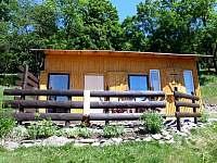 Boční pohled - chata ubytování Karlovice