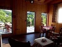 Obývací pokoj - chata ubytování Karlovice