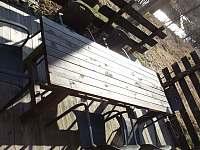 Terasa - pronájem chaty Karlovice