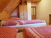 pokoj č. 2 - v patře - čtyřlůžkový - Vernířovice