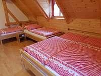 pokoj č. 3 - v patře - čtyřlůžkový - Vernířovice