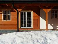 terasa - chalupa k pronájmu Vernířovice