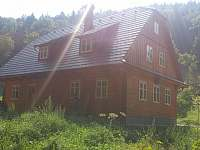 v ranním oparu - chalupa ubytování Vernířovice