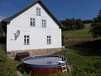 Bazén - chalupa k pronájmu Stříbrnice