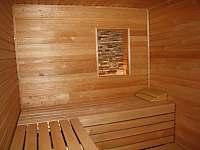 finská sauna - Ostružná