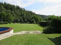 volná zahrada - pronájem chalupy Bohdíkov
