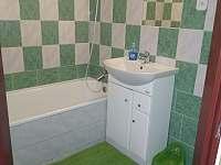 Koupelna - apartmán ubytování Ostružná
