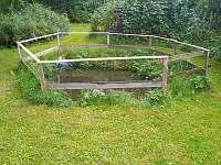 Zahrada - pronájem apartmánu Ostružná