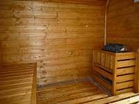 Venkovní Finská sauna - Česká Ves