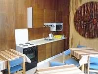 Kuchyně k dispozici klientům pro vlastní vaření