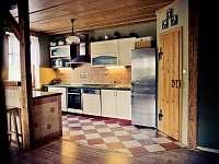 Kuchyň - pronájem chalupy Štědrákova Lhota