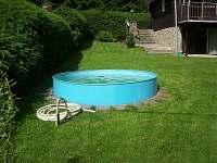 Bazén - chata k pronajmutí Hynčice pod Sušinou