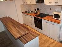 Kuchyňská linka - chata ubytování Stará Ves
