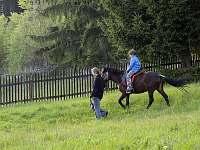 Projížďka na koni u chaty - k pronajmutí Stará Ves