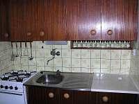 Chajda u vleku - kuchyň