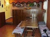 přízemí-lyžárna,vinárna - chata ubytování Branná
