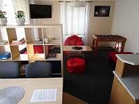 pokoj z kuchynskeho koutu - apartmán k pronajmutí Bruntál