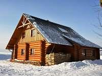 Chalupa v zimě - Dolní Orlice - Červená voda