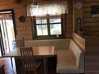 Jídelní kout - chalupa ubytování Vernířovice