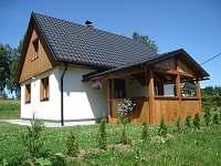 Kryté venkovní posezení - chata ubytování Filipovice
