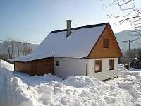 Zima Chalupa Filipovice Jeseník - chata k pronájmu