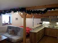 vánoční atmosféra - pronájem chaty Petříkov