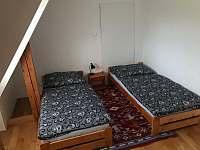 Dvoulůžkový pokoj 1.patro - Sobotín - Petrov nad Desnou